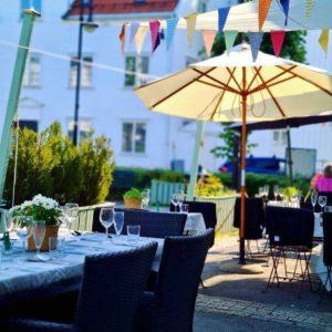 Restauranten ute